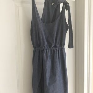 Jcrew chambray dress